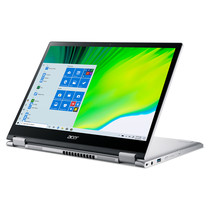 """Acer Spin 3 SP313-51N-545D LPDDR4x-SDRAM Hybride (2-in-1) 33,8 cm (13.3"""") 1920 x 1200 Pixels Touchscreen Intel® 11de generatie Core™ i5 16 GB 512 GB SSD Wi-Fi 6 (802.11ax) Windows 10 Pro Zilver"""