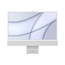 "Apple iMac 61 cm (24"") 4480 x 2520 Pixels Apple M 8 GB 256 GB SSD Alles-in-één-pc macOS Big Sur Wi-Fi 6 (802.11ax) Zilver"