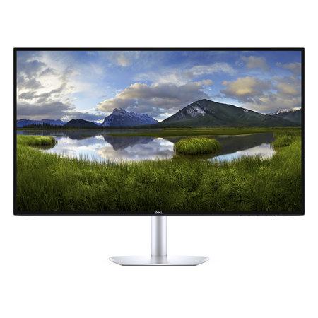 "Dell DELL S Series S2719DC 68,6 cm (27"") 2560 x 1440 Pixels Quad HD LCD Zwart, Zilver"