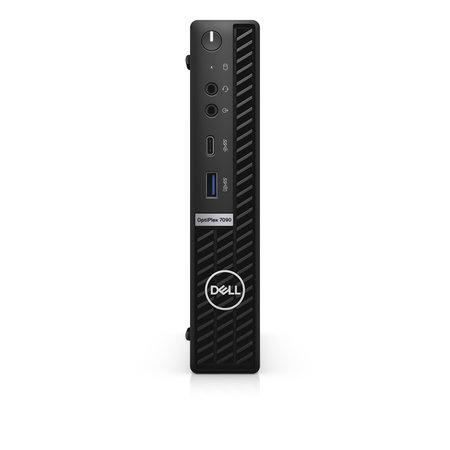 Dell DELL OptiPlex 7090 DDR4-SDRAM i5-10500T MFF Intel® 10de generatie Core™ i5 8 GB 256 GB SSD Windows 10 Pro Mini PC Zwart
