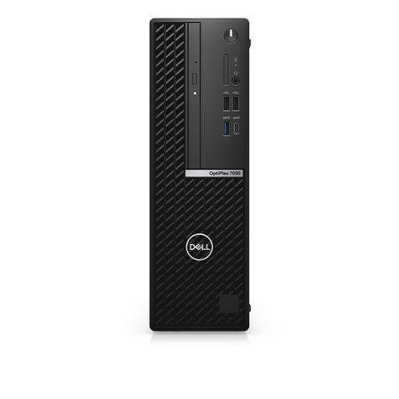 Dell DELL OptiPlex 7090 DDR4-SDRAM i5-10505 SFF Intel® 10de generatie Core™ i5 8 GB 256 GB SSD Windows 10 Pro Mini PC Zwart