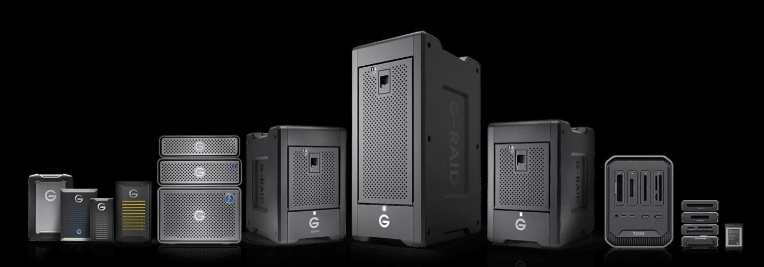 G-Technology wordt SanDisk Professional