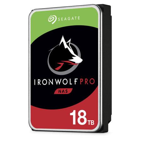 """Seagate Seagate IronWolf Pro ST18000NE000 interne harde schijf 3.5"""" 18000 GB SATA III"""