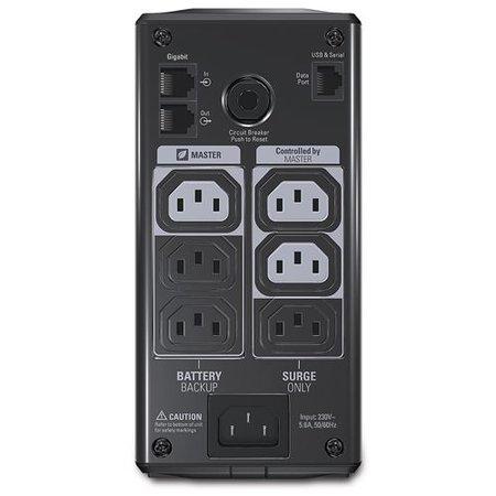 APC APC Back-UPS PRO 550VA noodstroomvoeding 6x C13 uitgang, USB