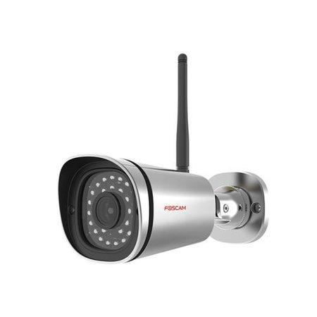 Foscam Foscam FI9800P bewakingscamera IP-beveiligingscamera Binnen & buiten Rond Roestvrijstaal 1280 x 720 Pixels