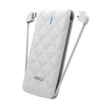 iWALK Duo 3,000 powerbank Wit Lithium-Ion (Li-Ion) 3000 mAh