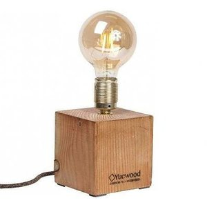 Yucwood Lamp Cube One 25cm