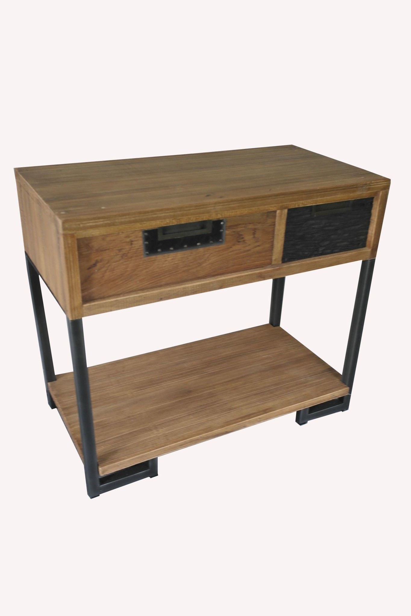 Sidetable Bruin Hout.Sidetable Thalysa Bruin 90cm Hout