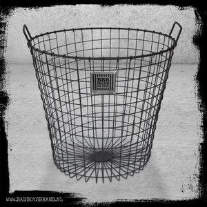 Bad Boys Brand Heavy Metal Basket Basket Steel