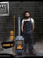 Bad Boys Brand Thumbs Up Tuinhaard 168cm Staal