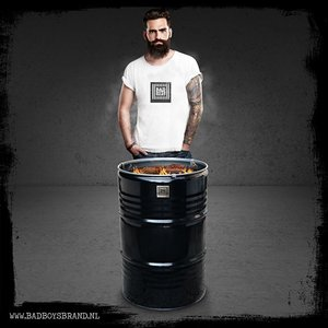 Bad Boys Brand Black Beast Barbecue Fire pit