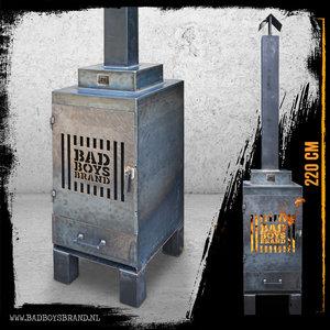 Bad Boys Brand Sparta Gate Garden fireplace 220 cm Steel