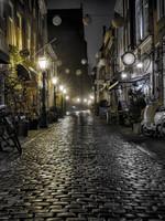 """Frans van Steijn """"Clock Alley"""" op Dibond 120cm"""