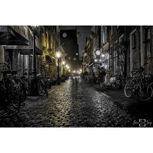 """Frans van Steijn """"Clock Alley"""" on Dibond 120cm"""