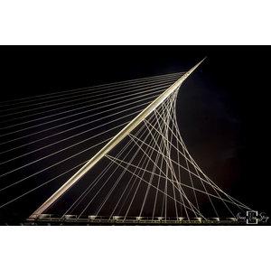 "Frans van Steijn ""Calatrava"" op Dibond 120cm"
