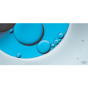 """Frans van Steijn """"Bubble Art#3"""" op Dibond 120cm"""