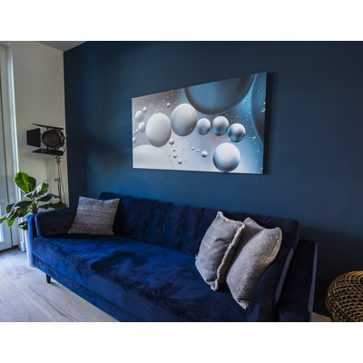 "Frans van Steijn Wall photo ""Rotterdam!"" Aluminum on Dibond 120 cm"