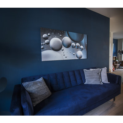 "Frans van Steijn Wall photo ""Clock Alley"" Aluminum on Dibond 120 cm"