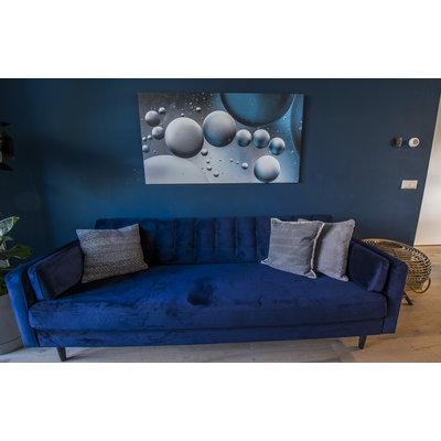 "Frans van Steijn Wall photo ""Flower Power"" Aluminum on Dibond 120 cm"