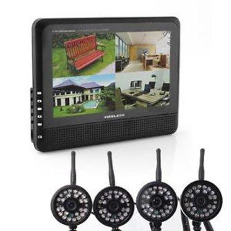 Camera Systeem met 4 Camera's