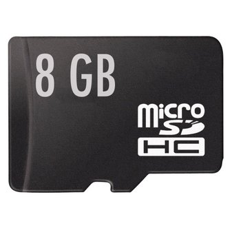 Micro SD Kaart HC 8GB