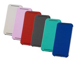 HTC ONE M8 Mini Flip Case Leder