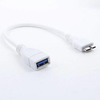 Adapter van USB Vrouwelijk naar Micro USB Mannelijk