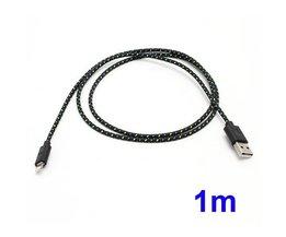 Nylon Kabel USB Lightning