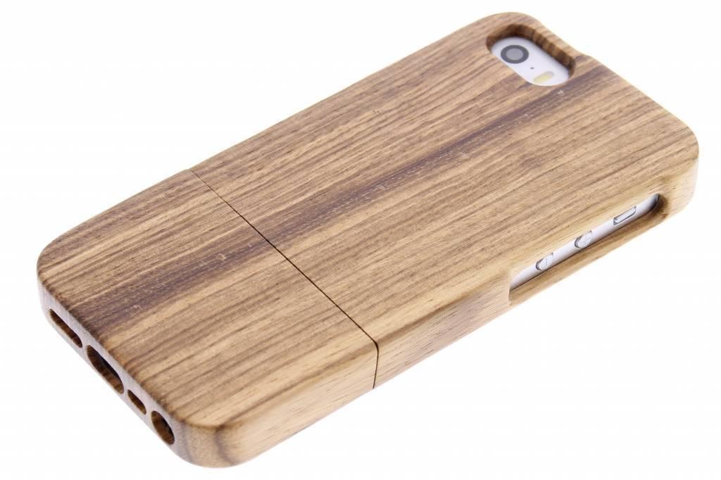 Hoesje Met Licht : Tech echt houten hoesje iphone s se licht hout met