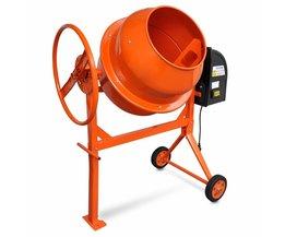Tech66 Betonmolen oranje staal 140 L 650 W