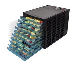 Tech66 Voedseldroger met 10 lades vierkant