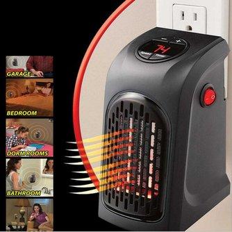 MyXL Alloet 400 w Elektrische Kachel Mini Ventilator Kachel Desktop Huishouden Muur Handige Verwarming Kachel Radiator Warmer Machine voor Winter