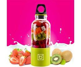 MyXL 500 ml Draagbare Elektrische Juicer Cup USB Oplaadbare Groenten Vruchtensap Maker Fles Sapcentrifuge Blender Mixer