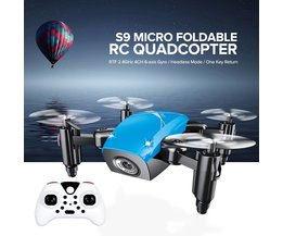 MyXL S9 S9W S9HW Opvouwbare RC Mini Drone Pocket Drone Micro Drone RC Helicopter Met HD Camera Hoogte Houden Wifi FPV FSWB Pocket Dron