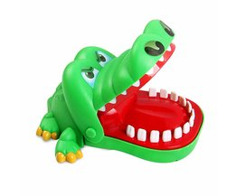 MyXL Grappige Krokodil Tanden Trekken Board Game Krokodil Mond Tandarts Bite Finger Kids Puzzel Speelgoed Bar Game voor Reactie Training