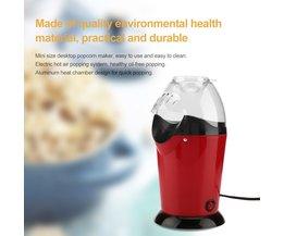 MyXL Draagbare Elektrische Popcorn Maker Thuis Ronde/VierkanteAir Popcorn Making Machine Keuken Desktop Mini DIY Corn Maker