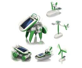 MyXL 6-in-1 Mini Solar Robot Kit Leerzaam Bouwpakket