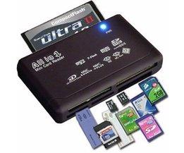 MyXL Kaartlezer voor diverse geheugenkaarten