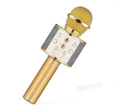 MyXL Karaoke Microfoon met Bluetooth