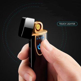 MyXL Zakelijke Stijl Opladen Elektrische Elektronische USB Aansteker Plasma Sigarettenaanstekervoor roken Sigaret Gereedschap Oplaadbare