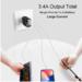 MyXL Baseus Multi USB Charger Voor iPhone Samsung Xiao mi mi snel Opladen Turbo Meerdere Wall Charger Eu US PLUG Mobiele telefoon Oplader