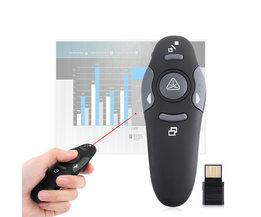 MyXL Laser Pointer USB Afstandsbediening