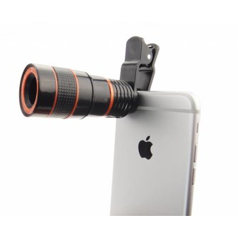 Universele Iphone Telefoon 8 x Zoom Telescoop