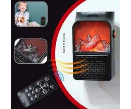 MyXL Mini Elektrische Muur-outlet Vlam Heater EU Plug-in Air Warmer PTC Keramische Verwarming Kachel Radiator Huishouden Muur handy Fan