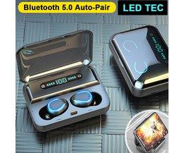 MyXL Draadloze Bluetooth Oortjes met Ledlicht