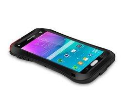 Love Mei Spatwaterdichte en Schokbestendige Samsung Note 4 Hoes