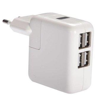 USB-Lichtnetadapter 4 poort