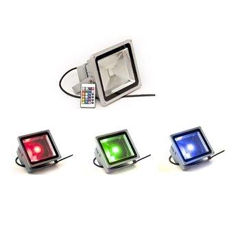 LED Schijnwerper Buiten met Kleur