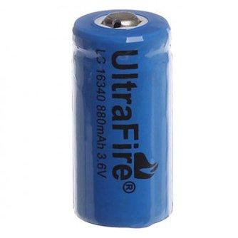 UltraFire 2 x 16340 Batterij