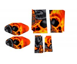 Sticker Lava voor de Playstation 4